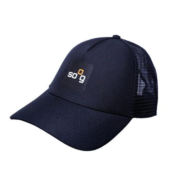 Trucker-Cap recyclet Schwarz